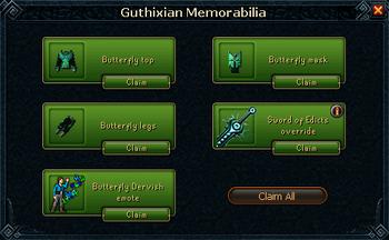 Guthixian Memorabilia