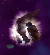 Vorago in outer space