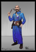 Vic the Trader concept art