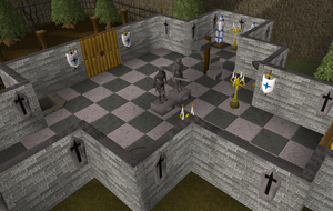 Heroes' Guild ground floor old