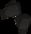 Mourner gloves detail