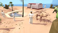 Bedabin Village Bartering