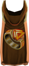 Hooded dungeoneering cape (t) detail