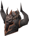 Malevolent helm detail