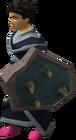 Rune berserker shield equipped old