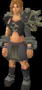 Replica Bandos armour equipped (female)