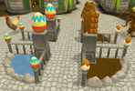 Varrock Easter 2012 fountain