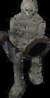 Giant skeleton old