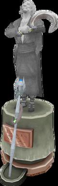 Flaygian Screwte statue