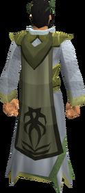 Third-age druidic cloak equipped