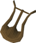 Enchanted lyre detail