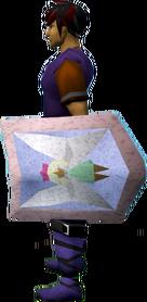 Rune kiteshield (Fairy) equipped