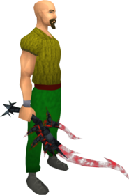 Drygore longsword (blood) equipped