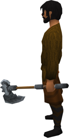 File:Off-hand steel battleaxe equipped.png