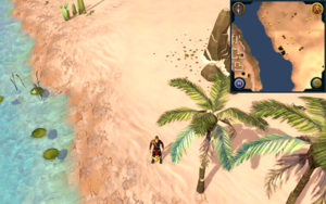 Scan clue Kharidian Desert east of Pollnivneach