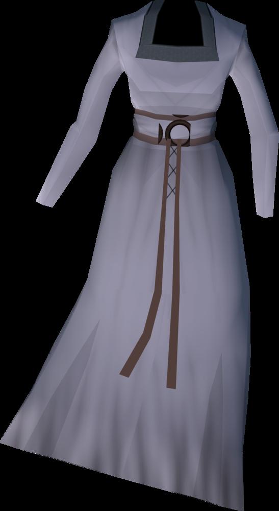 Sarsaparilla's dress detail