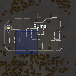 Demon Flash Mob (Ruins) location