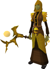 Golden Ahrim the Blighted's equipment equipped
