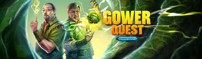 Gower Quest head banner