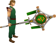 Banner of Bandos (tier 3) equipped