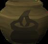 Fragile cooking urn (nr) detail
