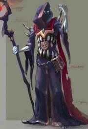 Infernal mage concept art