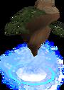 Divine yew tree detail