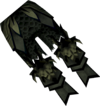 Malevolent greaves (barrows) detail