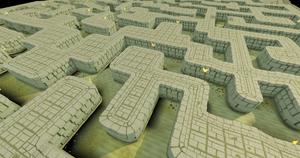 Sophanem Dungeon maze