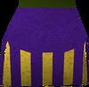 Menap action kilt (purple) detail