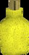 Yellow dye detail