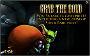 Grab the Gold advert