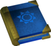 Mages' book (blue) detail