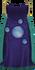Divination cape (t) detail