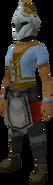 Rune heraldic helm (Dorgeshuun) equipped