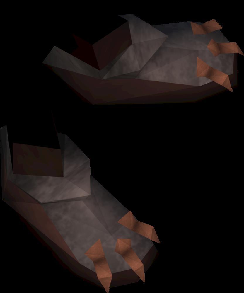 Warpriest of Bandos boots detail