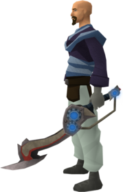 Augmented Jessika's sword equipped