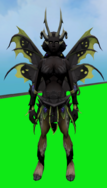 Satyr Outfit equipped (female)