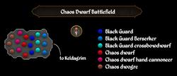 Chaos Dwarf Battlefield map