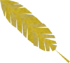 Golden feather (Eagles' Peak) detail