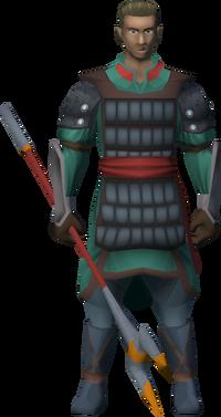 Eastern soldier