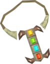 Cramulet (monkey, ghost, cat, camel) detail