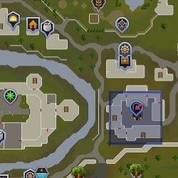 Dwarf (Mining Guild) location