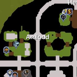 Amlodd Clan map