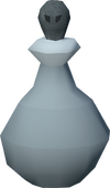 Strained moonshine vial detail