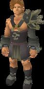 Replica Bandos armour equipped (male)
