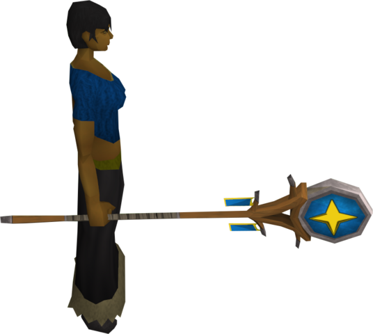File:Banner of Saradomin equipped.png