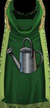 Hooded farming cape (t) detail