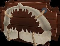Shark jaw (built)