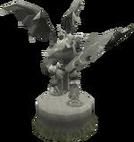 Fine Zamorak statue (God Statues)